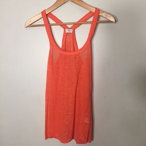 XS Madewell Wallace coral tank top